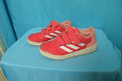 f0478fae3a8bc BASKETS ADIDAS FILLE taille 33 fr framboise rose - EUR 13