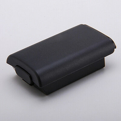 Black Battery Pack Cover Shell Shield Case Kit for Xbox 360 Wireless ControlHICA