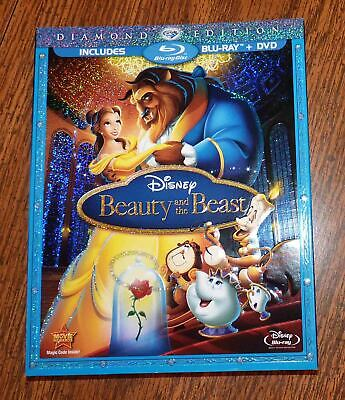 Disney - Beauty and the Beast Diamond Edition (SLIPCOVER ONLY) - Very Nice!