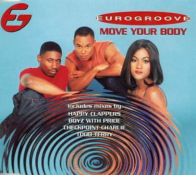 Eurogroove-Move Your Body CD Single  New