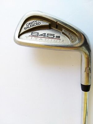 Tommy Armour 845s Titanium 7 Iron - Tour Step 3 Sensicore R-Flex Steel - RH  37""