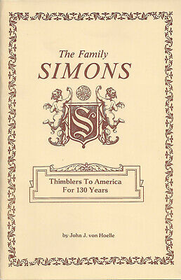 BOOKLET: The Family Simons by John von Hoelle c.1985 - Out of Print