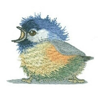 Chickadee Designs for Machine Embroidery - On a USB