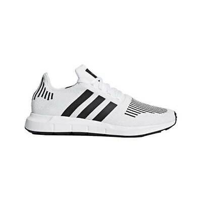 df2813072 Adidas Originals SWIFT RUN White Core Black Medium Grey Heather Mens CQ2116  Sz 7