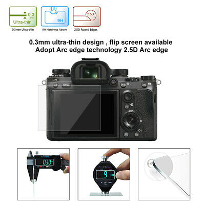 For Sony ILCE-9/A6500/A7M2 LCD Screen Guard Protector Tempered Glass Cover 6451