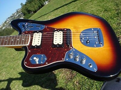 Fender Kurt Cobain Signature Model Lefty Left Handed Jaguar Nirvana