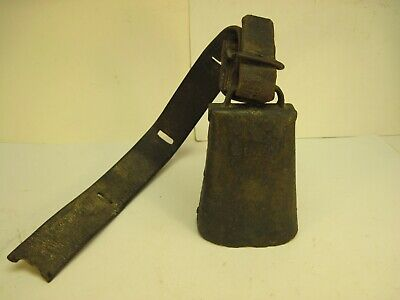 COW BELL Vintage Antique Metal Farm Tool Primitive
