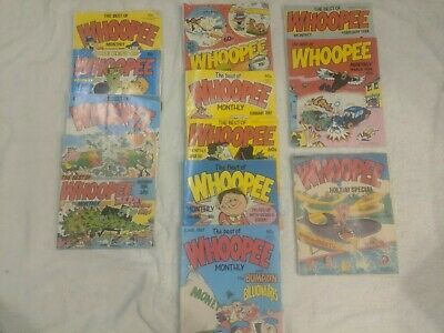 Best Of Whoopee 11 X Issues 1986 - 1988