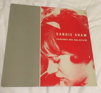"The Smiths & Sandie Shaw Hand In Glove RARE 12"" Single"