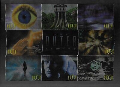 Complete Outer Limits Sex,Cyborgs /& Sci-Fi 81 Card Set