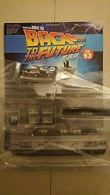 Eagle Moss BTTF Build The Delorean Collection Issues