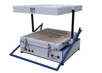 """Vacuum former 24"""" x 24"""",600x600mm, Vacuum forming molding, Thermoforming Machine"""