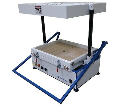 """Vacuum former 20""""x16"""",500x400mm, Vacuum forming molding, Thermoforming Machine"""