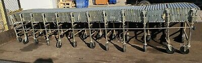 USED NestaFlex Flexible Roller Conveyor - Steel Rollers 200
