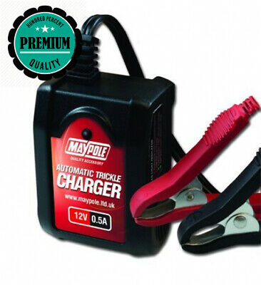 12V Fully Automatic Car Battery Trickle Charger Ideal For Maintenance Charging