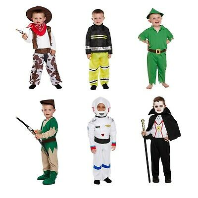 Toddler World Book Day Fancy Dress book Character Boys Dressing Up Outfit NEW