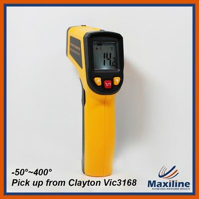 IR Infrared Laser Digital Thermometer Temperature Measurer Tool Laser Gun Meter