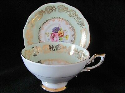 Royal Standard Fine Bone China Teacup and Saucer
