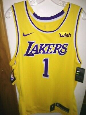 Authentic Nike Lakers Icon Edition Jersey NWT WISH Patch NBA Los Angeles 299baf02f