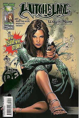 Witchblade # 80 Green Foil Dynamic Forces DF exclusive limited to 250 with COA