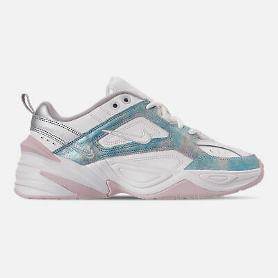 Authentic Nike M2K Tekno Summit Wht Icey Blue Barely Rose AO3108 103 Women  size