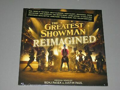 THE GREATEST SHOWMAN REIMAGINED LP PREORDER New Sealed Vinyl