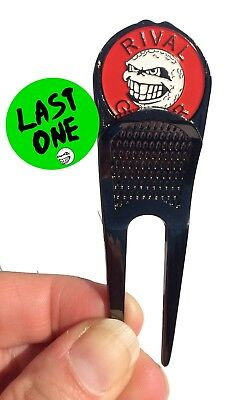 Divot 'Destroyer' Tool with RED Ball Marker
