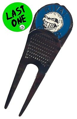 Divot 'Destroyer' Tool with BLUE Ball Marker