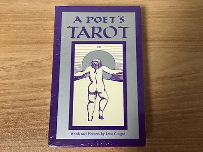 A Poet's Tarot by Jesse Cougar NEW OOP