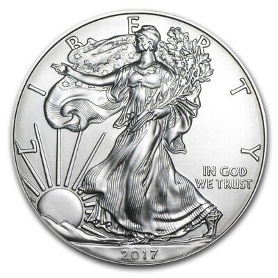 1 OZ dollaro USA LIBERTY EAGLE 2017 ARGENTO SILVER ONCIA
