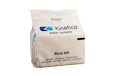 10x Kinetico Block Salt 8kg Packs - (Delivery: Essex/Herts/Cambs/Suffolk only)