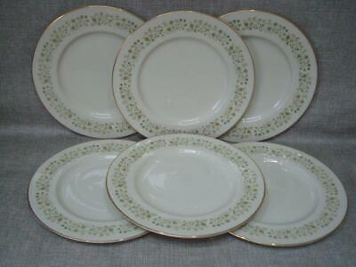 """ROYAL DOULTON WESTFIELD 10 1/2 """" DINNER PLATES x 6  - 1st QUALITY - EXCELLENT"""