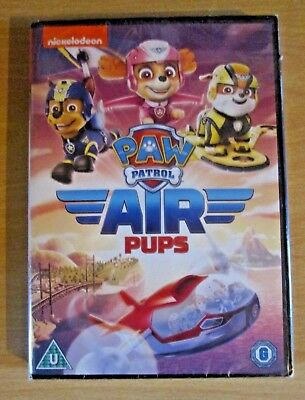 Paw Patrol Air Pups DVD - New and Sealed Fast and Free Delivery nickolodean