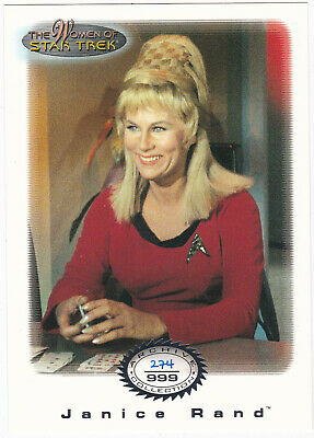 Star Trek Women Of Star Trek In Motion Archive Collection Ac16 Janice Rand *cond