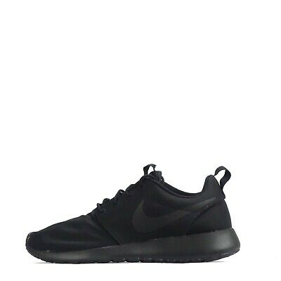 sports shoes a5af8 bb024 Nike Roshe Run Uomo Scarpe Sportive Triple Nere Dispari Paio