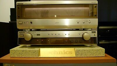 Technics SE-A1010 + SU-C1010 MOS-FET gold with new accu and original packing