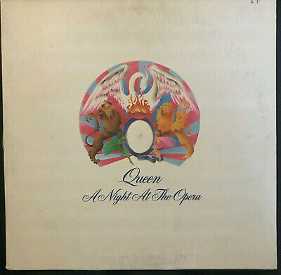 Queen - A Night at the Opera - vinyl record LP - Bohemian Rhapsody and more!