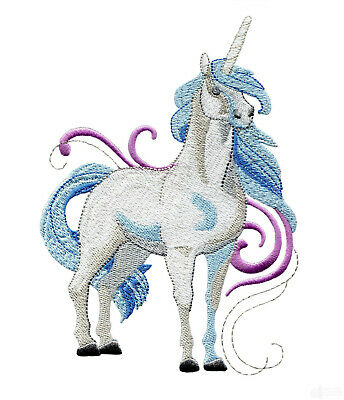 Unicorn Fantasy Designs for Machine Embroidery - On a CD or USB