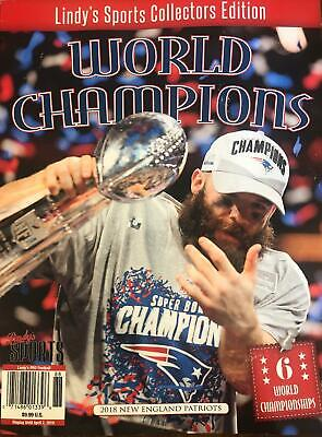 2018 New England Patriots World Champion Lindy's Sports Collectors Edition