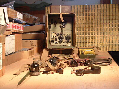 WW2 Wireless Set No.18 WS18 and accessories
