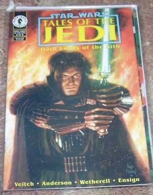 Star Wars Tales Of The Jedi Dark Lords Of The Sith Comic Set 1 2 3 4
