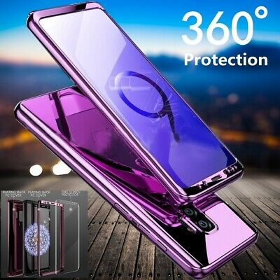 Hybrid Shockproof 360 Ultra thin Hard Mirror Case Cover For Samsung Galaxy Phone