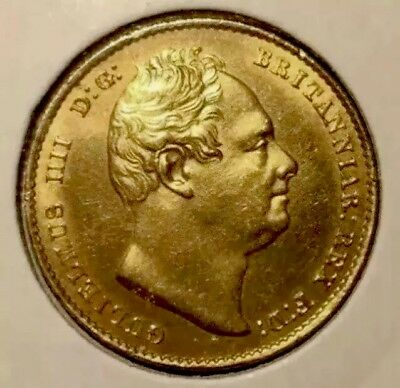 1832 Gold Sovereign, Uncirculated & Lustrous.