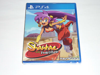 SHANTAE and the Pirate's Curse PS4 Limited Run Game BRAND NEW SEALED REGION FREE