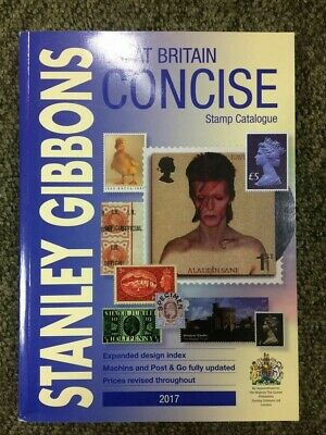 Great Britain Concise Stamp Catalogue 2017 SECONDS. Ex WAREHOUSE Ref: B