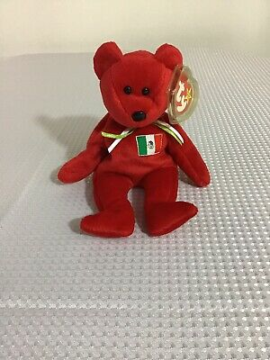 TY Beanie Baby - 1999 Osito Mexican Bear 9in - NEW WITH TAGS