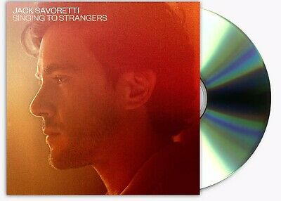 Signed Jack Savoretti CD New Release Singing to Strangers Genuine Signed Copy