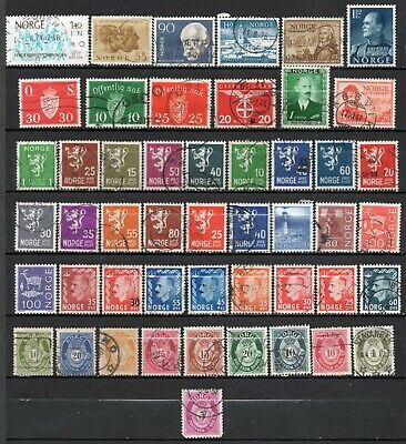 Norway very nice mixed era mixed collection,stamps as per scan(6378)