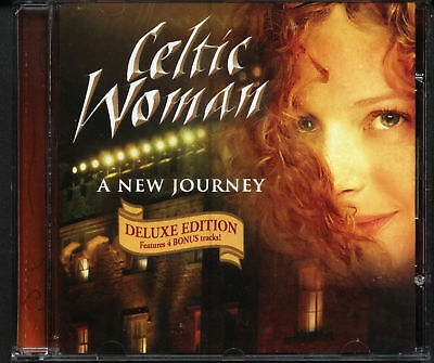 CELTIC WOMAN - DELUXE EDITION (2006 CD) CLADDAGH CHARM (unsealed)