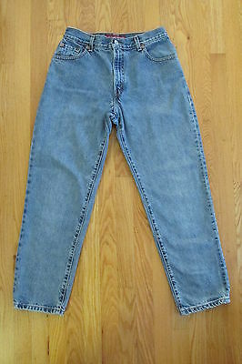 c85134a6a2c766 Levi s 550 Women s Size 10 Mis S Jeans Relaxed Fit Medium Blue Denim  Tapered Leg